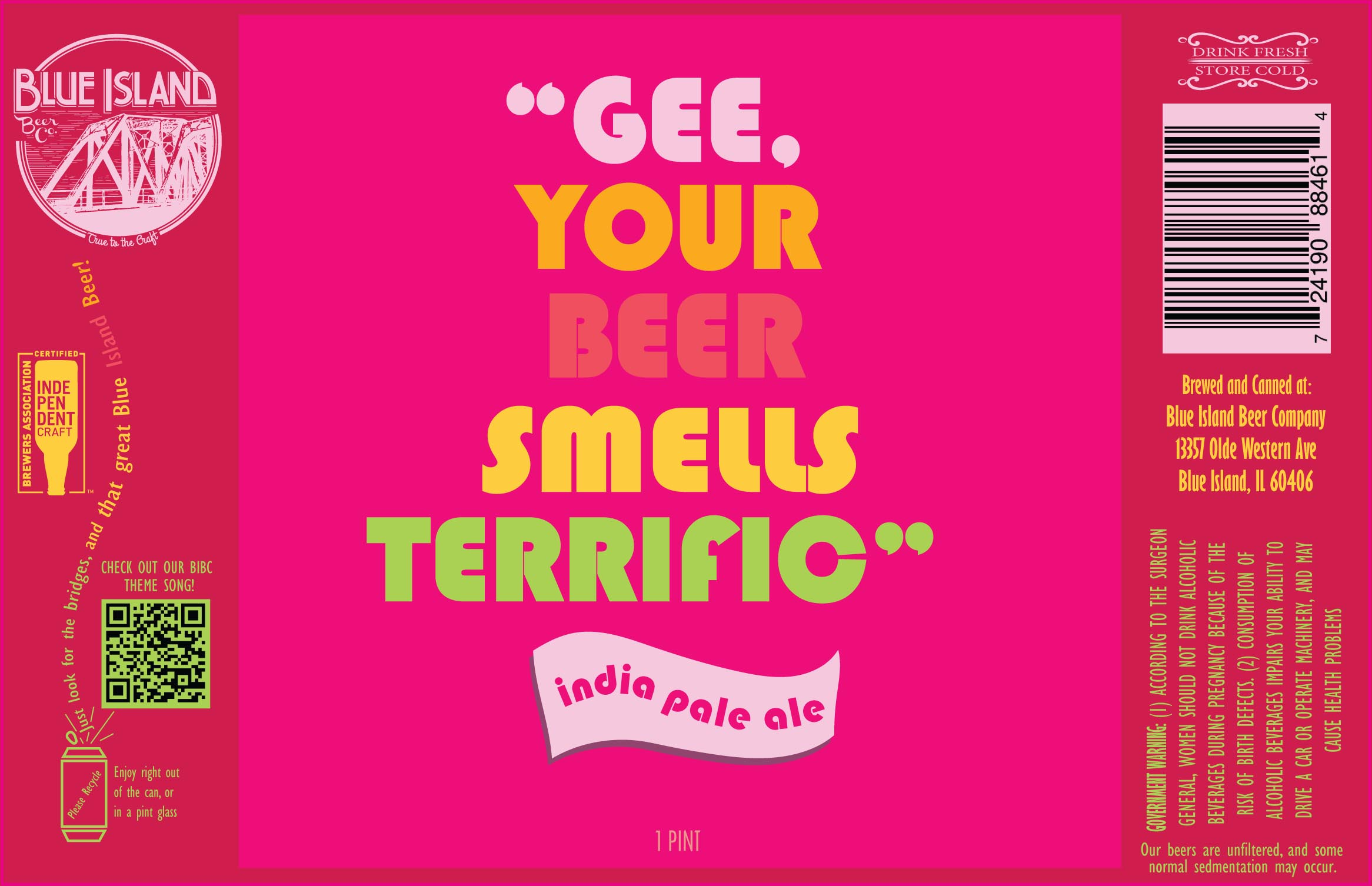 Gee, Your Beer Smells Terrific